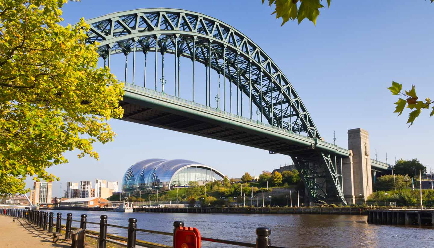 Inglaterra - Tyne Bridge, New Castle, UK