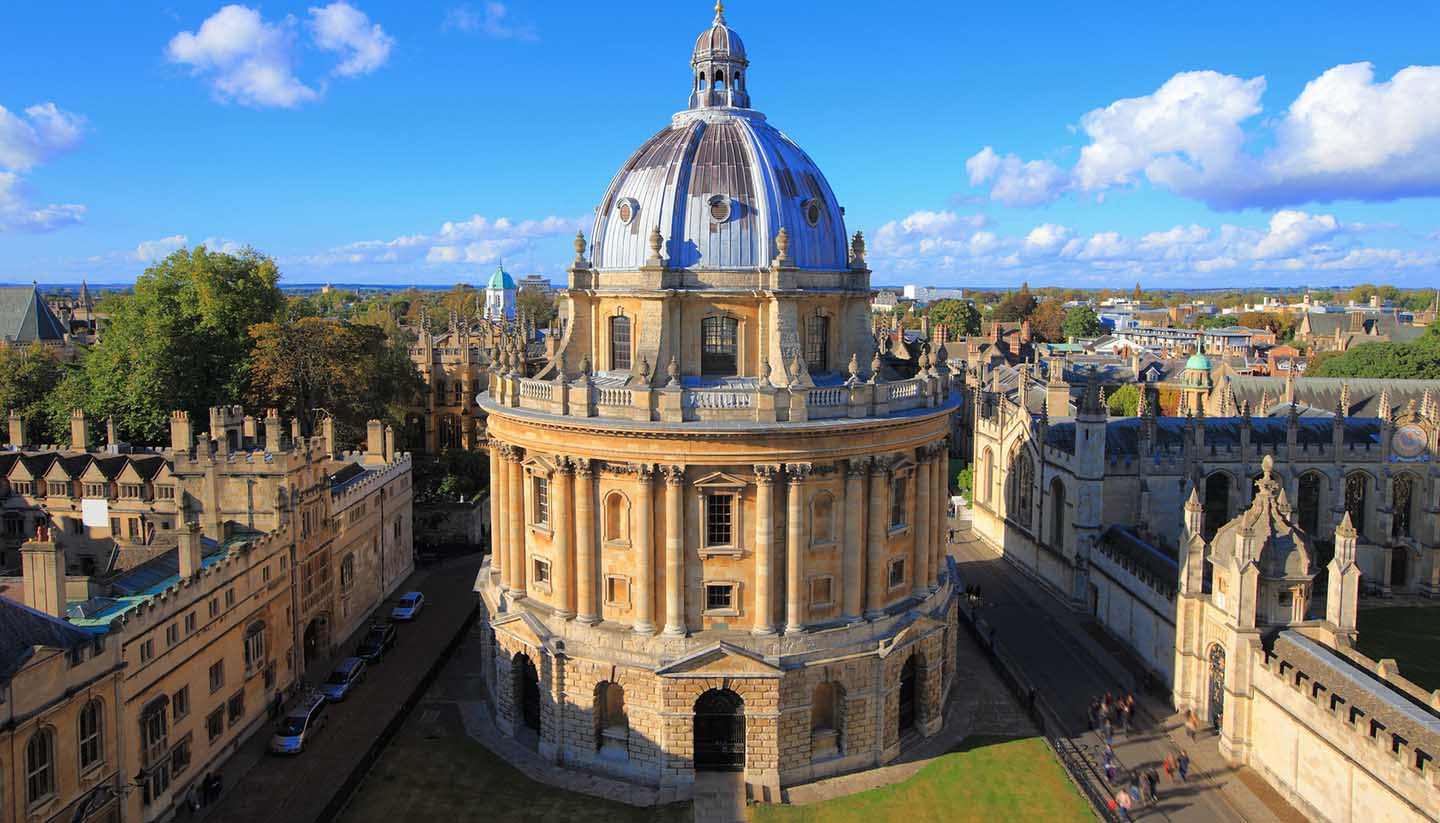 Inglaterra - The Oxford University City, UK