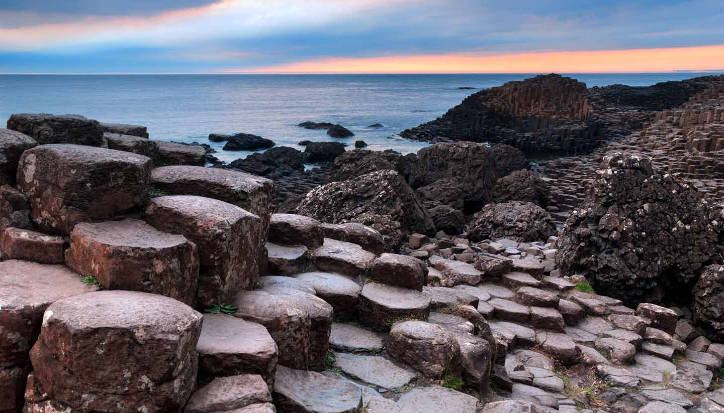 Irlanda - Giants Causeway, Northern Ireland, UK
