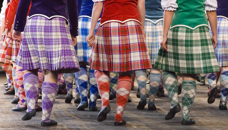 Escocia - Highland Dancers Edinburgh, UK