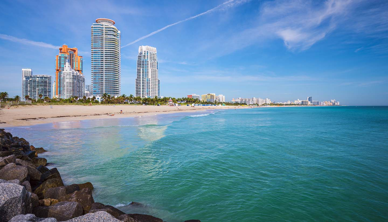 Florida - Miami Beach Skyline, Florida, USA