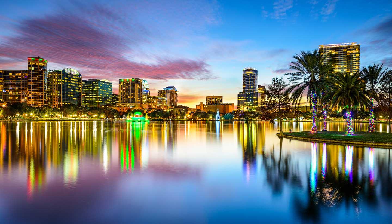 Orlando - Orlando Skyline, Florida, USA