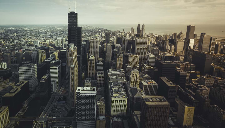 Chicago - Chicago Financial Distict Illinois, USA
