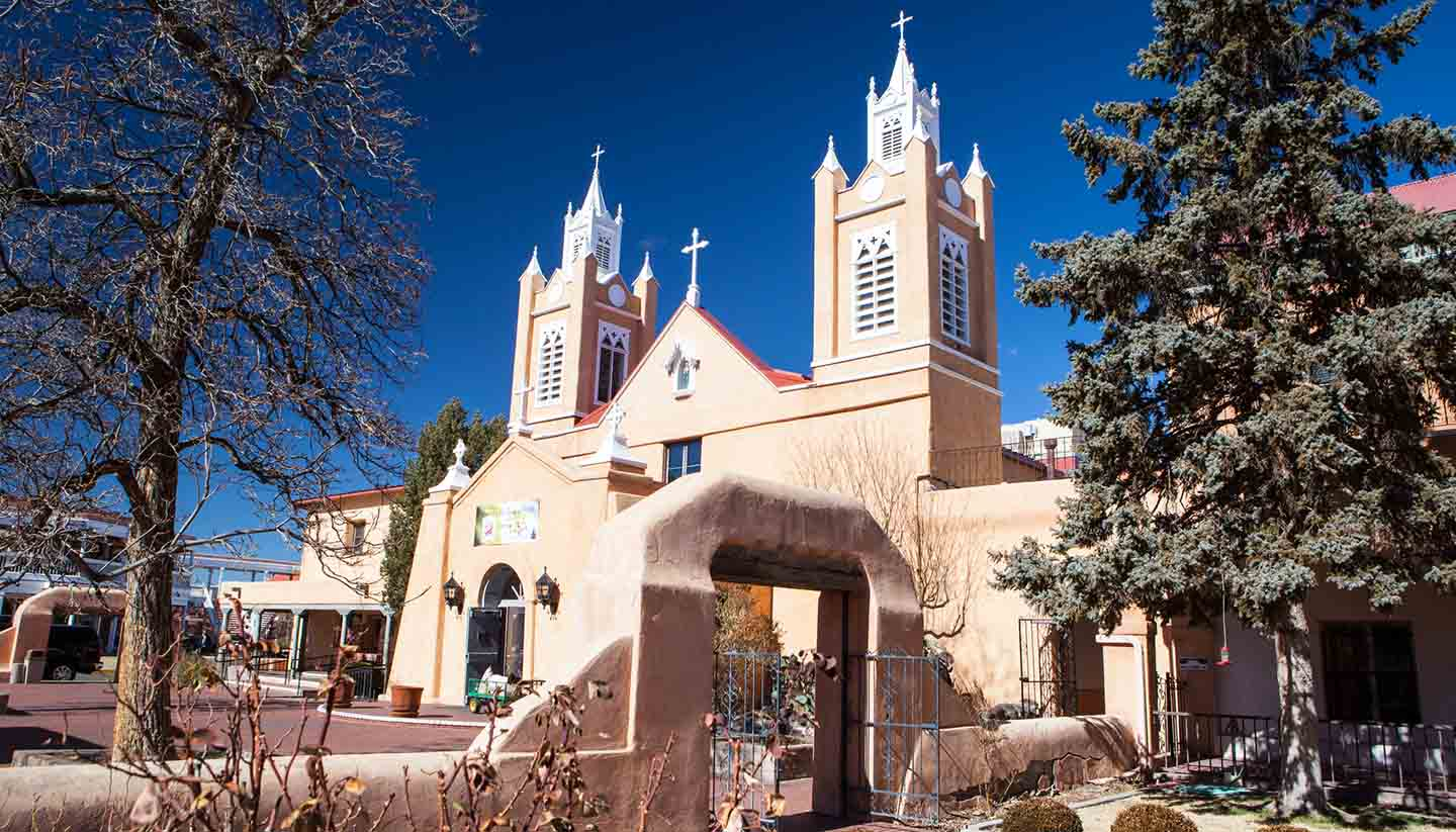 México - Neri Church, Albequerque, New Mexico, USA
