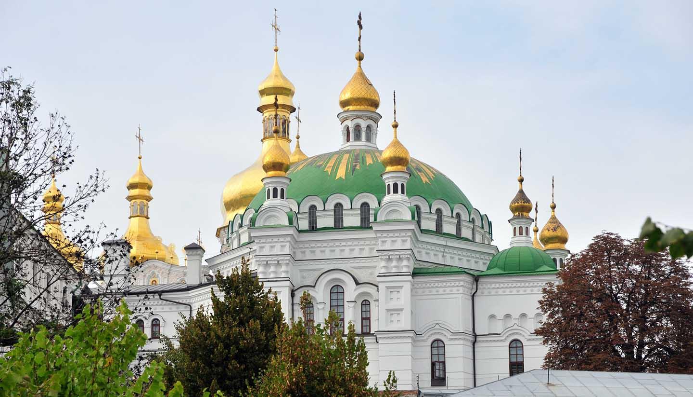 Ucrania - Kiev Pechersk Lavra, Ukraine.