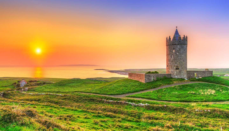Irlanda - Doonagore Castle, Ireland