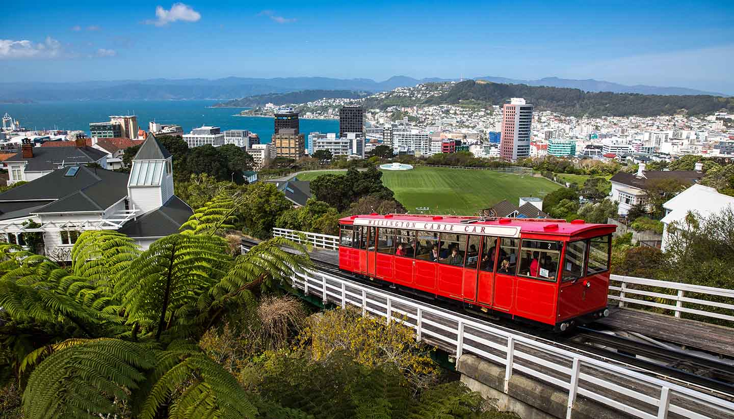 Nueva Zelanda - Wellington Cable Car, NewZealand