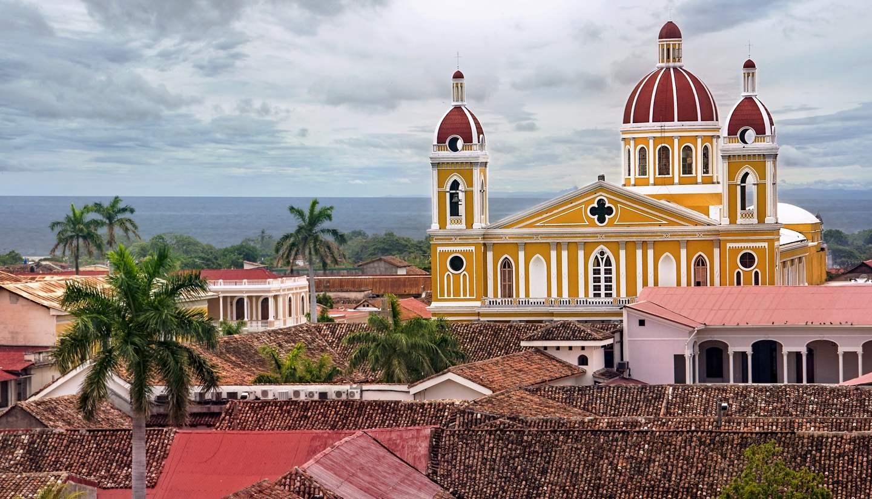 Granada - Cathedral Granada, Nicaragua