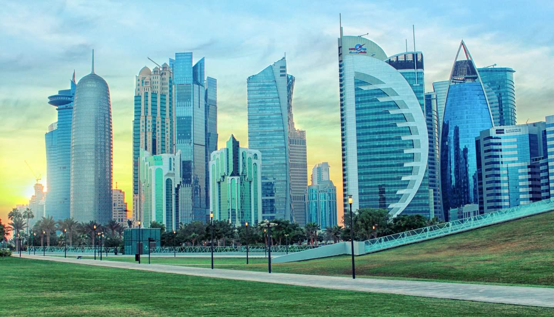 Catar - Doha's skyline, Qatar