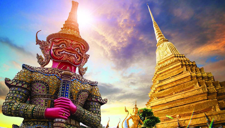 Bangkok - WatPhraKaew-Bangkok, Thailand