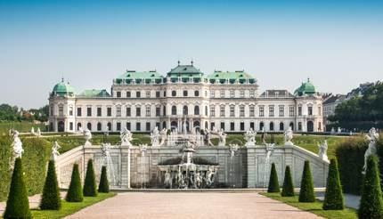 Viena - Schloss Belvedere