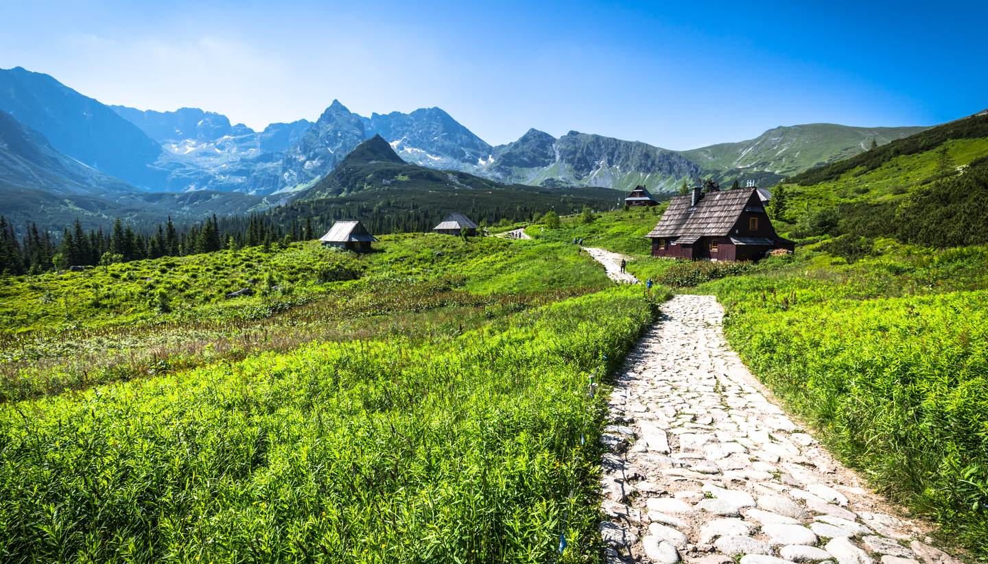 Polonia - Hala Gasienicowa in Tatra Mountains