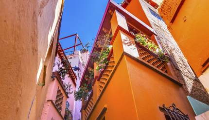México - The Alley of the Kiss, Guanajuato