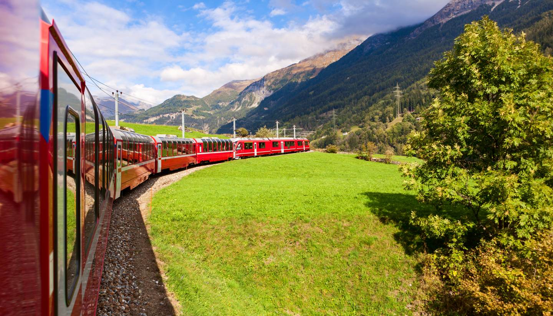 Suiza - Glacier Express, a UNESCO heritage site