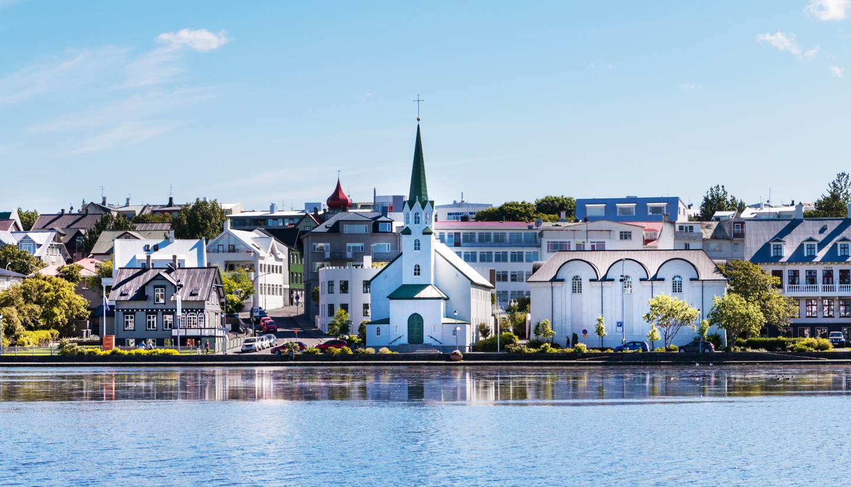 Reikiavik - Reykjavik city scape