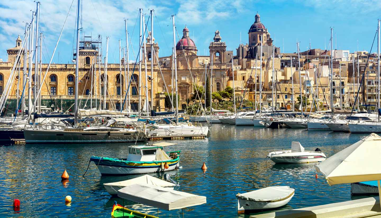 La Valeta - Grand Harbour, Valletta, Malta