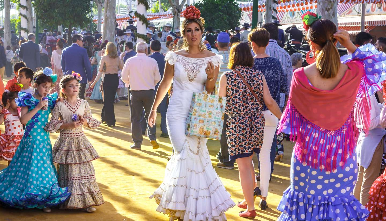 Sevilla - Feria de Abril festival, Seville, Spain