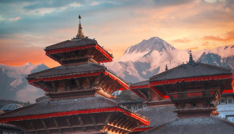 Nepal - Patan, ancient city in Kathmandu Valley
