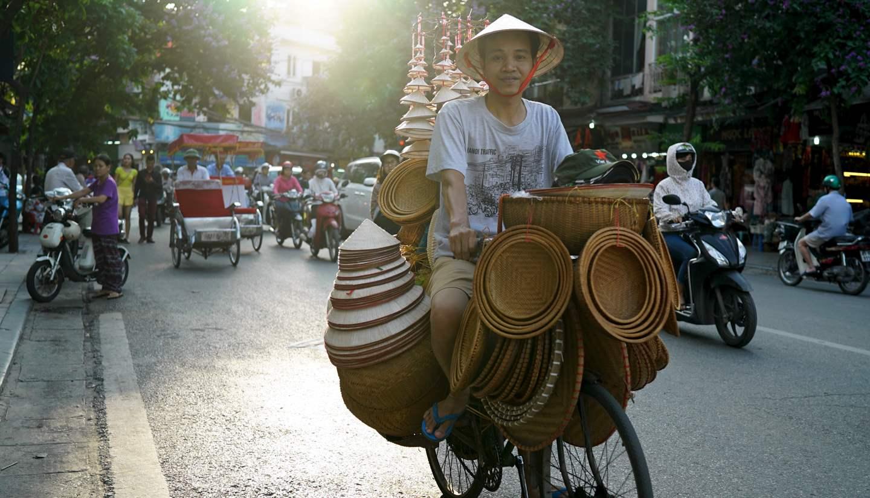 Vietnam - Street vendor, Hanoi, Vietnam