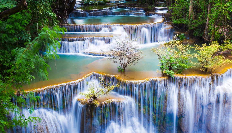Tailandia - Huay Mae Kha Min waterfalls, Thailand