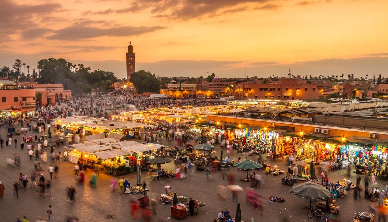 Marrakech - Jamaa el Fna, Marrakech, Morocco
