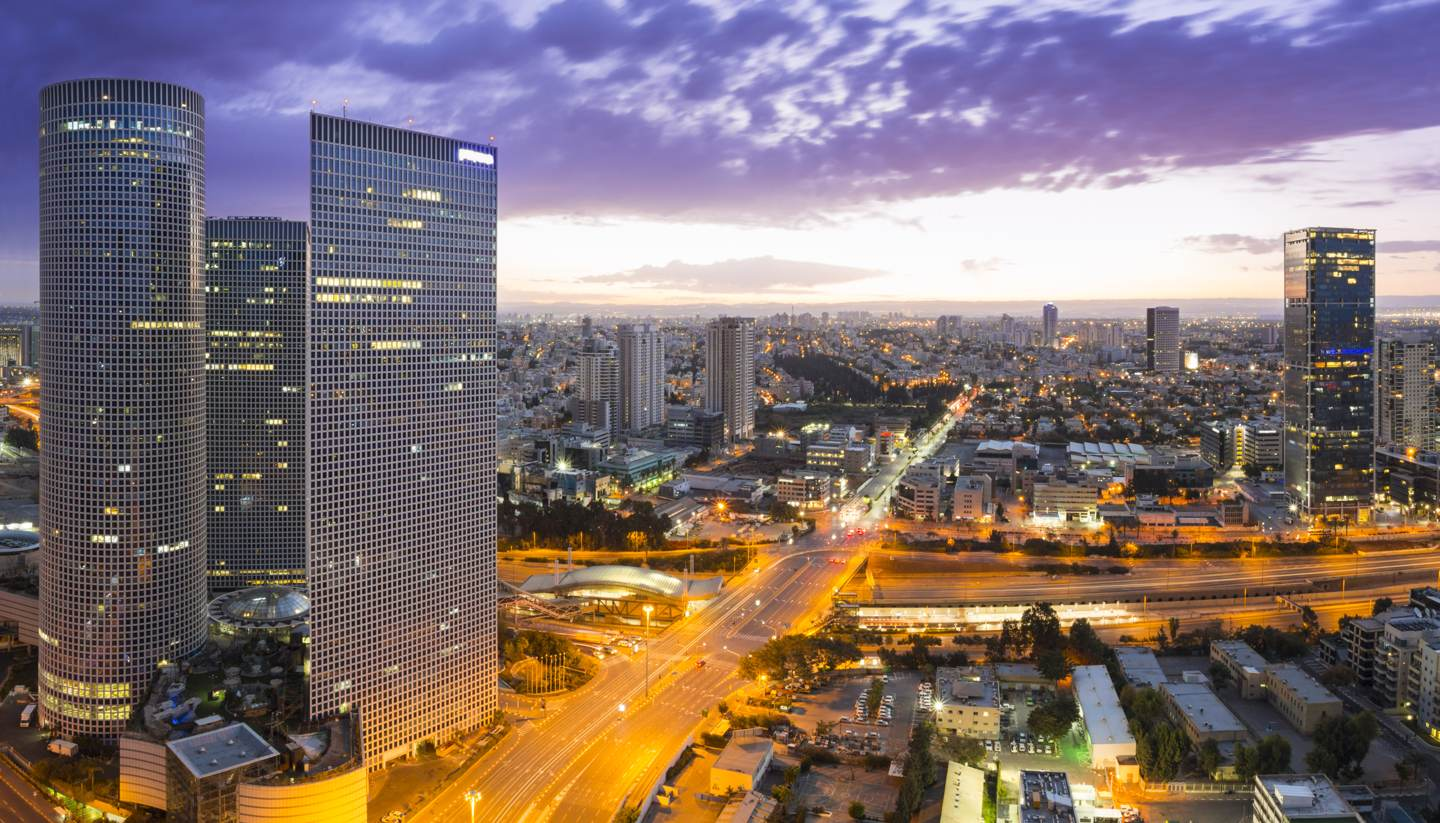 Israel - Tel Aviv at sunset, Israel